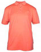 XXL4YOU Polo cool effect  manches courtes Rouge Corail