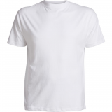 XXL4YOU T-shirt blanc de XL à 8XL Col rond