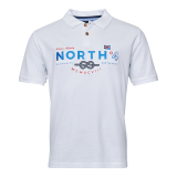 XXL4YOU North 56.4 Polo Nautique blanc de 3XL à 10XL
