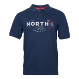 XXL4YOU North 56.4 Polo Nautique bleu marine de 3XL à 10XL