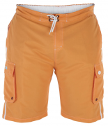 XXL4YOU Short Piscine orange de XXL à 8XL