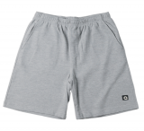 Short détente gris chiné de L à 8XL