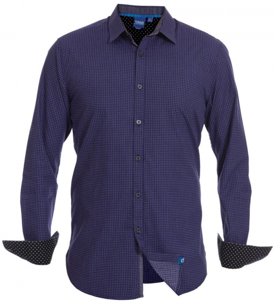 1XL - Chemise Fashion bleu de XL à 6XL pour Homme - XXL4you