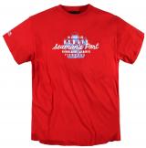 T-shirt Imprimé manches courtes rouge 3XL à 8XL