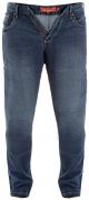 Jeans grande taille skinny bleu denim  de 42US à 60US