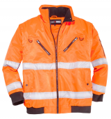 Veste chantier Orange Fluo  de 4XL à 10XL