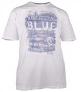 T-shirt manches courtes blanc-cassé 3XL à 8XL