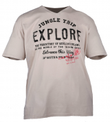 T-shirt manches courtes Beige clair 3XL à 8XL