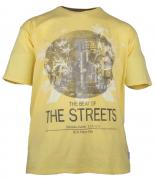 T-shirt manches courtes Jaune clair 3XL à 8XL