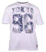 T-shirt manches courtes blanc 3XL à 8XL