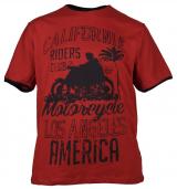 T-shirt manches Courtes rouge brique de 3XL à 8XL