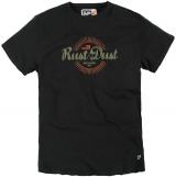T-shirt manches courtes noir 3XL à 8XL