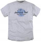 T-shirt Imprimé manches courtes gris clair 3XL à 8XL