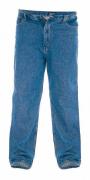 Jeans 5 poches bleu délavé Stretch - Longueur 34