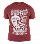 T-shirt manches courtes rouge de 2XL à 8XL