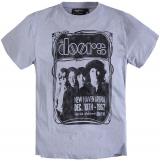 T-shirt Rock The Doors manches courtes gris chiné 2XL à 8XL