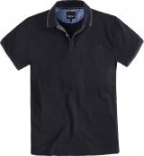 Polo Fashion manches courtes noir de 2XL à8XL