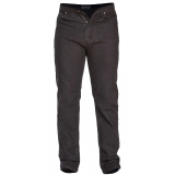 Jeans 5 poches noir délavé Stretch - Longueur 34