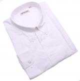Chemise manches longues blanche de 4XL à 8XL