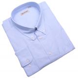 Chemise manches longues bleu clair de 4XL à 8XL
