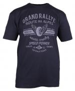 T-shirt manches courtes gris anthracite 3XL à 8XL