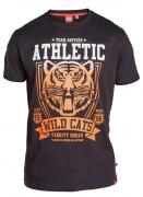 T-shirt manches courtes noir de 3XL à 6XL