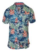 Chemise hawaïenne bleu de 2XL à 8XL