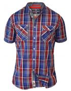 Chemise carreaux bleu rouge blanc de 2XL à 8XL