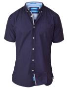 Chemise bleu marine de 2XL à 8XL