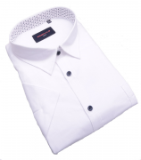 Chemise manches Courtes blanc de 3XL à 6XL