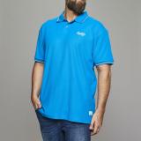 Polo manches courtes turquoise 3XL à 8XL