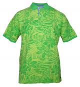 Polo manches courtes vert