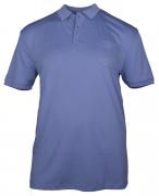 Polo cool effect  manches courtes bleu