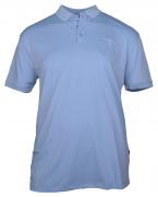 Polo cool effect  manches courtes bleu clair