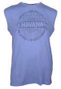 T-shirt sans manche bleu 3XL à 8XL
