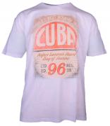 T-shirt manches courtes Mélange de blanc 3XL à 8XL