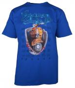 T-shirt manches Courtes bleu atlantique de 3XL à 10XL