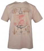 T-shirt manches Courtes Beige clair de 3XL à 10XL