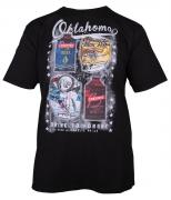 T-shirt manches Courtes noir de 3XL à 10XL