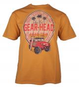 T-shirt manches Courtes vintage Jaune ocre de 3XL à 8XL