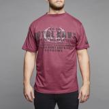 T-shirt Manches courtes lie de vin de 3XL à 8XL