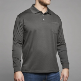 north-564-polo-manches-longues-cool-effect-noir-de-3xl-a8xl