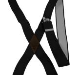 Bretelle noir à pinces