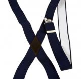 Bretelle bleu marine à pinces
