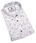 Chemise manche courte blanche de 3XL à 6XL