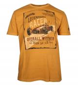T-shirt manche courte ocre 3XL à 8XL