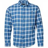 Chemise manche longue Grands carreaux bleu de 3XL à 8XL
