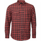 Chemise Replika Jeans carreaux rouge noir manches longues 3XL à 8XL