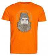 T-shirt manche courte orange de 3XL à 8XL