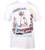 T-shirt manche courte mélange de blanc 3XL à 8XL